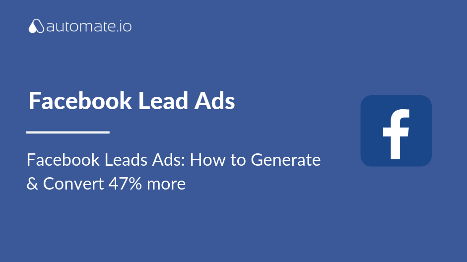 facebook lead ads conversion