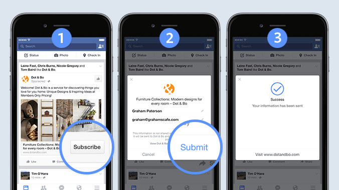 Facebook lead ads setup