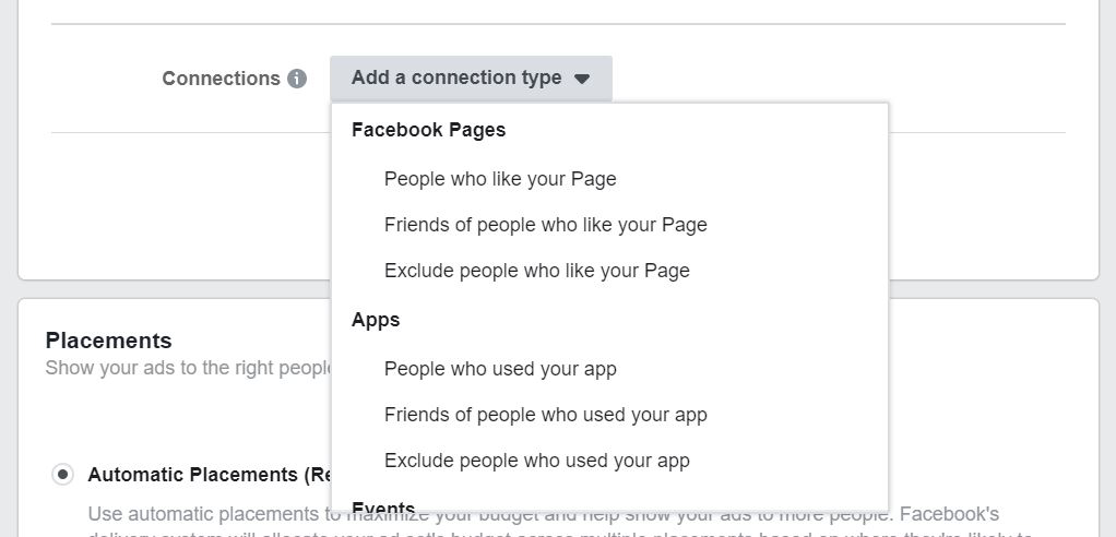 Facebook target audience who liked your page