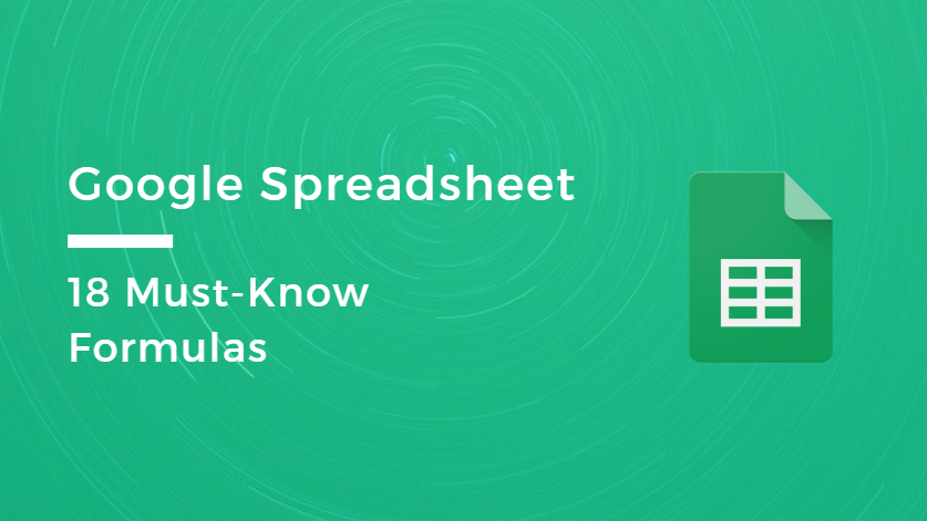 google spreadsheet blog