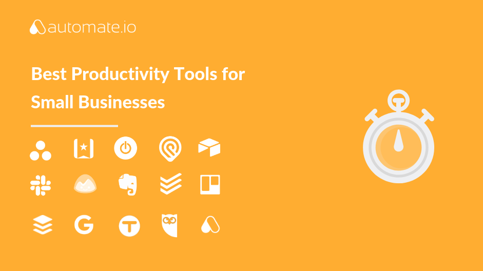 16 Best Productivity Tools for Small Businesses - Automate