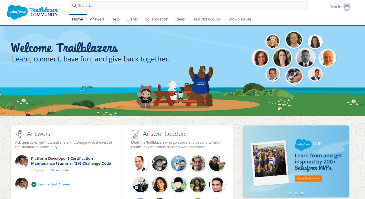 Salesforce's Trailblazers Community