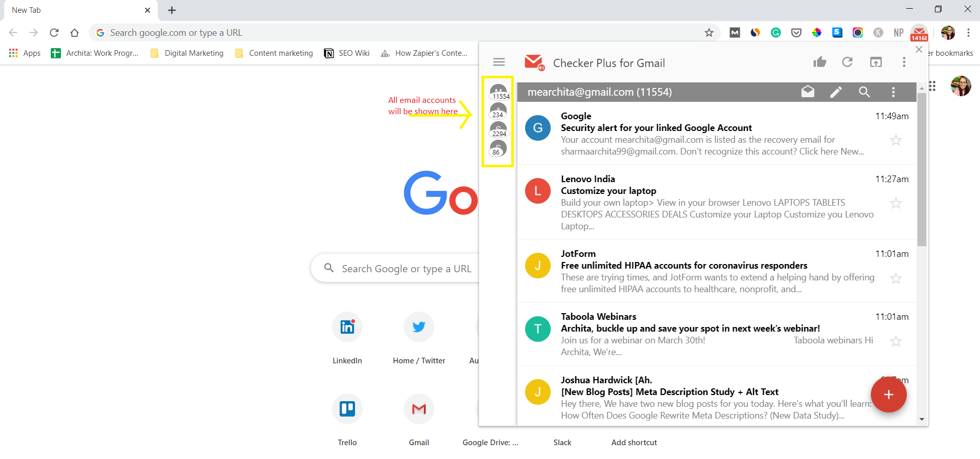 Checker Plus Gmail Add On