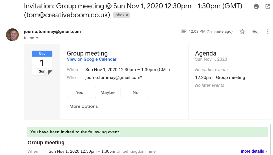 Automatically add events to your Google Calendar from Gmail