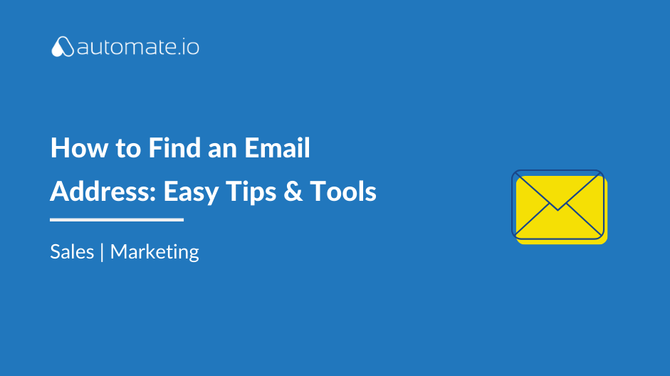 Blog: Email finder tools