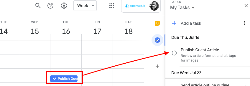 view google tasks in calendar