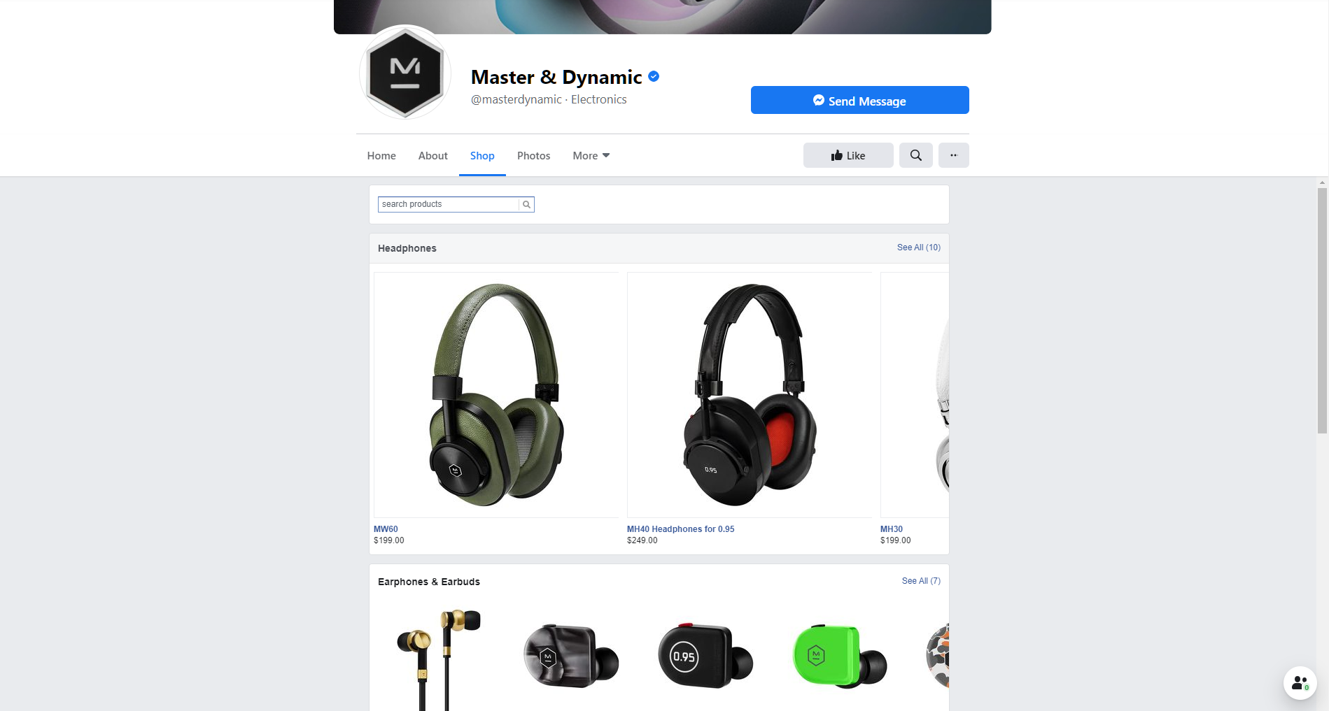 Master Dynamic Facebook Collection